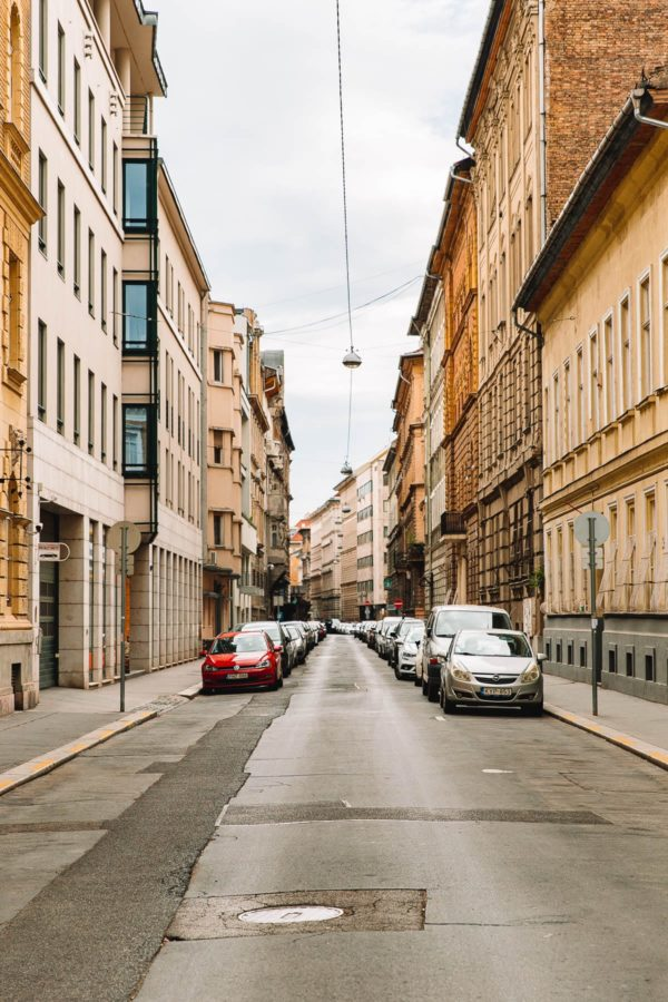 Budapest City Streets