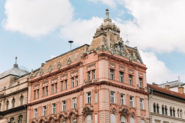 Budapest Street Buildings