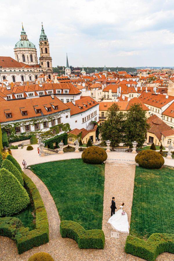 Vrtba Garden Prague