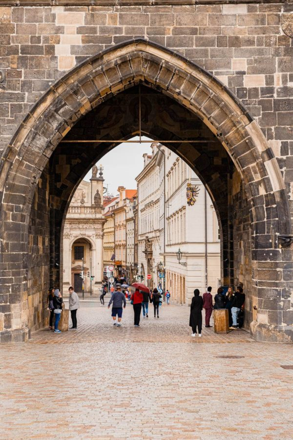 Charles Bridge Arch Prague