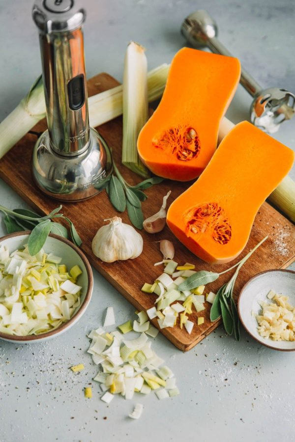 Roasted Butternut Squash Soup Ingredients