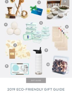 2019 Eco Friendly Gift Guide