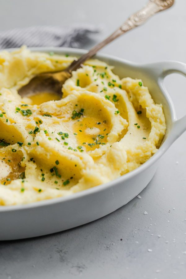 Yukon Gold Mashed Potatoes with Chives