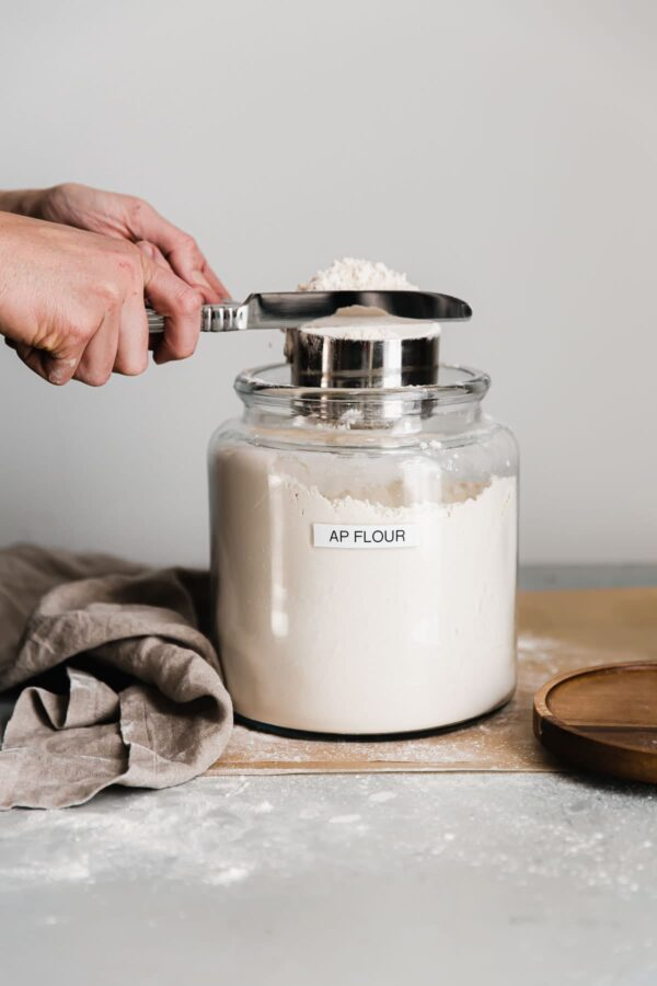 Flour in a Container