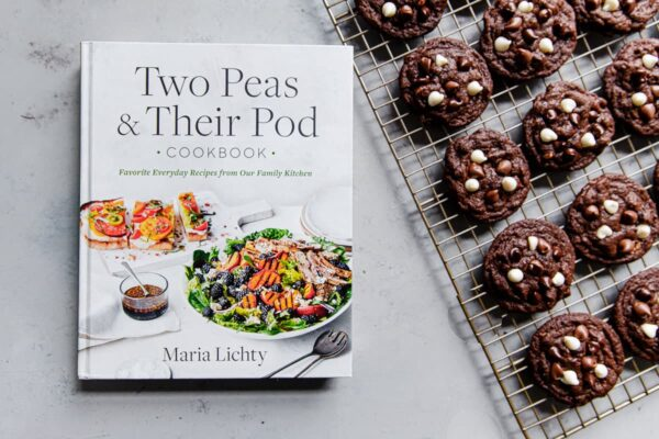 Two Pea and Their Pod Cookbook with Chocolate Chip Cookies