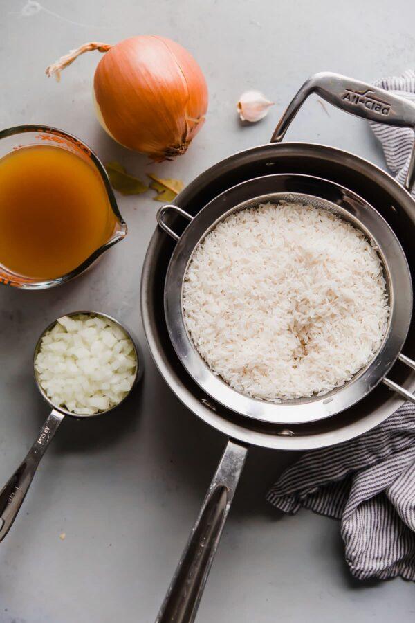 Basmati Rice Pilaf Ingredients