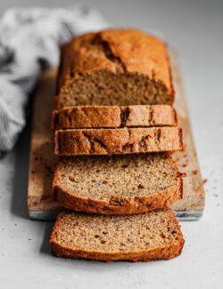 Easy Healthier Banana Bread
