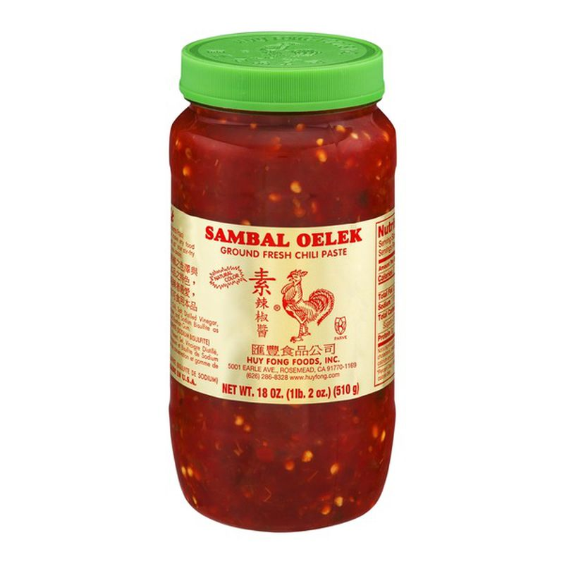 Huey Fong Sambal Oelek Chili Paste