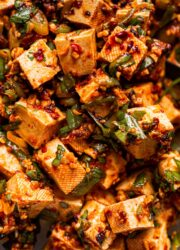 Spicy No Cook Tofu