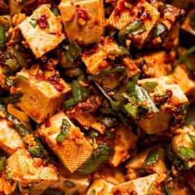 Spicy No Cook Tofu