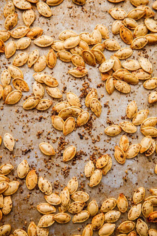 Roasted Pumpkin Seeds with Za'atar