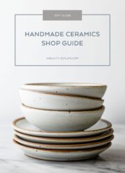 Handmade Ceramics Shop Guide