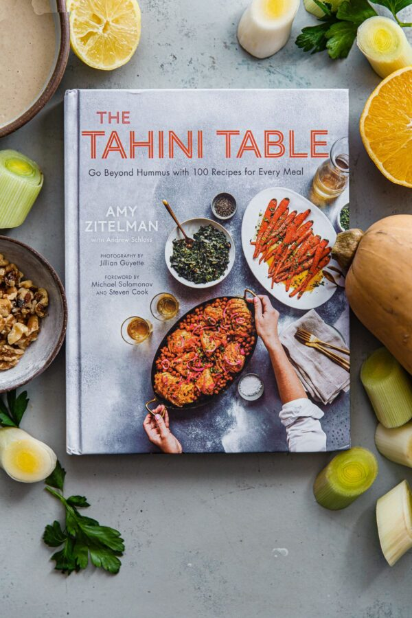 The Tahini Table Cookbook with Recipe Ingredients