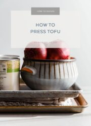 How to Press Tofu