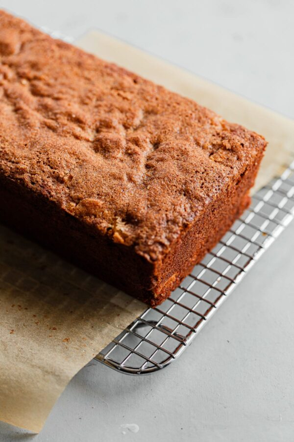 Baked Apple Quick Bread