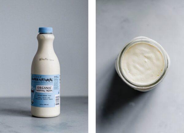 Cultured Cream for Cultured Butter